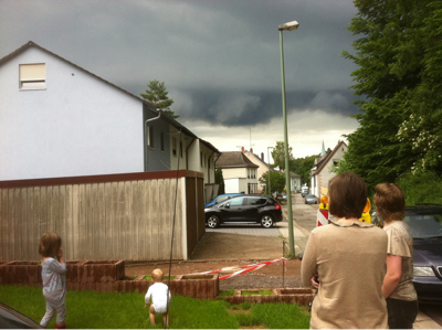 beware the storm